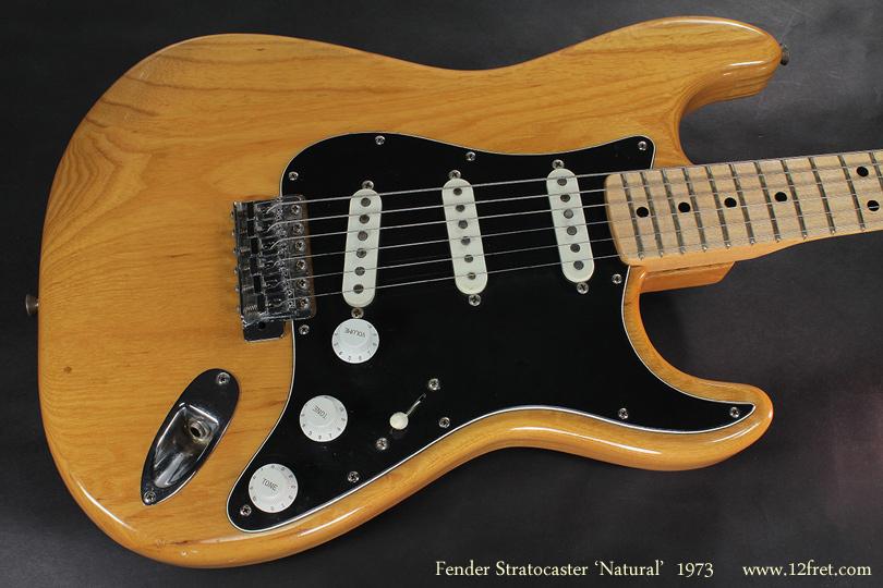 Fender Stratocaster Natural 1973 Www 12fret Com
