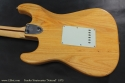 Fender Stratocaster Natural 1973 back