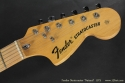 fFender Stratocaster Natural 1973 head front view