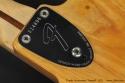 Fender Stratocaster Natural 1973 microtilt neckplate