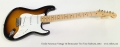 Fender American Vintage '56 Stratocaster Two Tone Sunburst, 2012 Full Front View