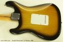 Fender Stratocaster 57 Reissue 1986 back