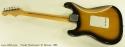 Fender Stratocaster 57 Reissue 1986 full rear view