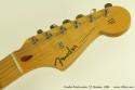 Fender Stratocaster 57 Reissue 1986 head front