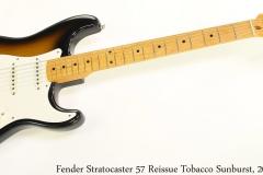 Fender Stratocaster 57 Reissue Tobacco Sunburst, 2003 Full Front View