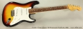 Fender Closet Classic '60 Stratocaster Sunburst, 2001 Full Front View