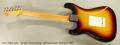 Fender Closet Classic '60 Stratocaster Sunburst, 2001 Full Rear View