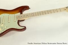 Fender American Deluxe Stratocaster Sienna Burst, 2009  Full Front View