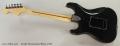 Fender Stratocaster Black, 1979 Full Rear VIew