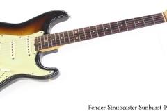 Fender Stratocaster 1961 Sunburst Full Front View