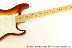 Fender Stratocaster Elite Sienna Sunburst, 1983 Full Front View
