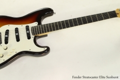 Fender Stratocaster Elite Sunburst 1983   Full Front View