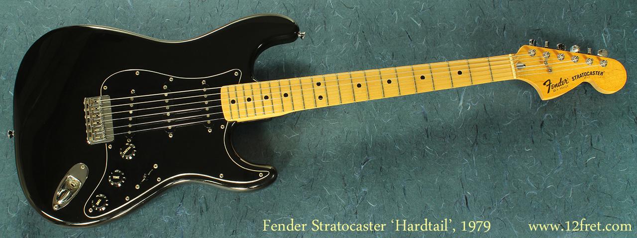 Fender Hardtail Stratocaster, 1979 full front