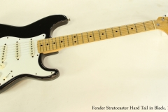 Fender Stratocaster Hard Tail in Black, 1973  Full Front View