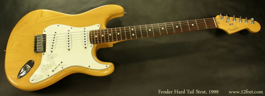 Fender Hardtail Stratocaster 1999 full front view