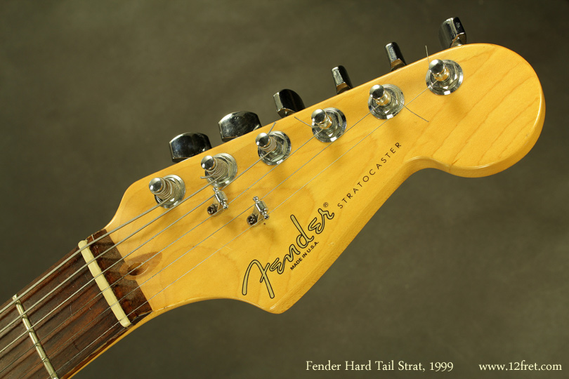 Fender Hardtail Stratocaster 1999 head front