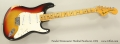 Fender Stratocaster Hardtail Sunburst, 1975 Full Front View