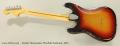 Fender Stratocaster Hardtail Sunburst, 1975 Full Rear View