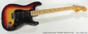Fender Stratocaster Hardtail Sunburst 1977 full front view