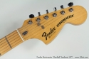 Fender Stratocaster Hardtail Sunburst 1977 head front view