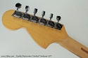 fFender Stratocaster Hardtail Sunburst 1977 head rear view