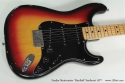 Fender Stratocaster Hardtail Sunburst 1977 top