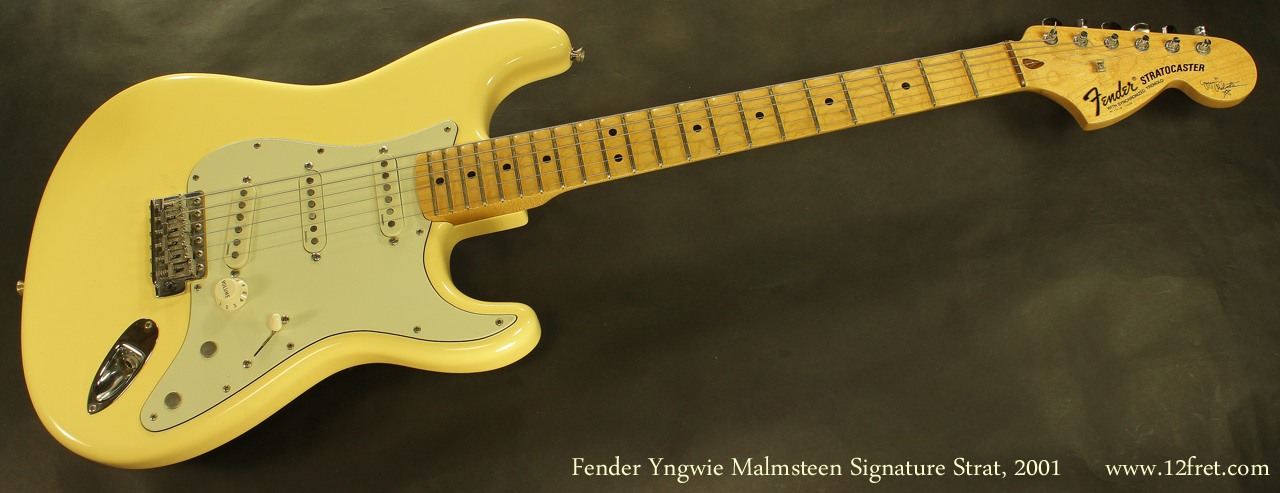 Fender Yngvie Malmsteen Signature Strat 2001 full front view