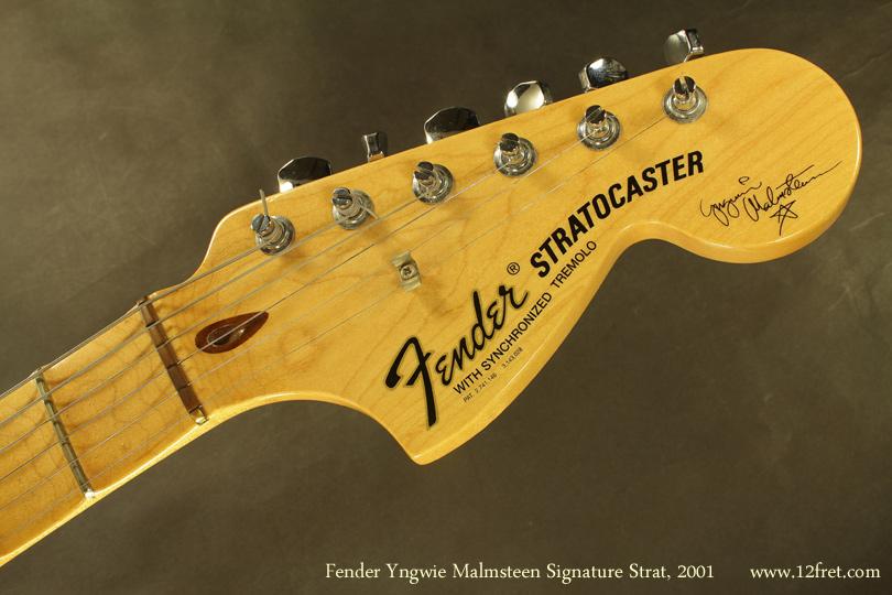 Fender Yngvie Malmsteen Signature Strat 2001 head front