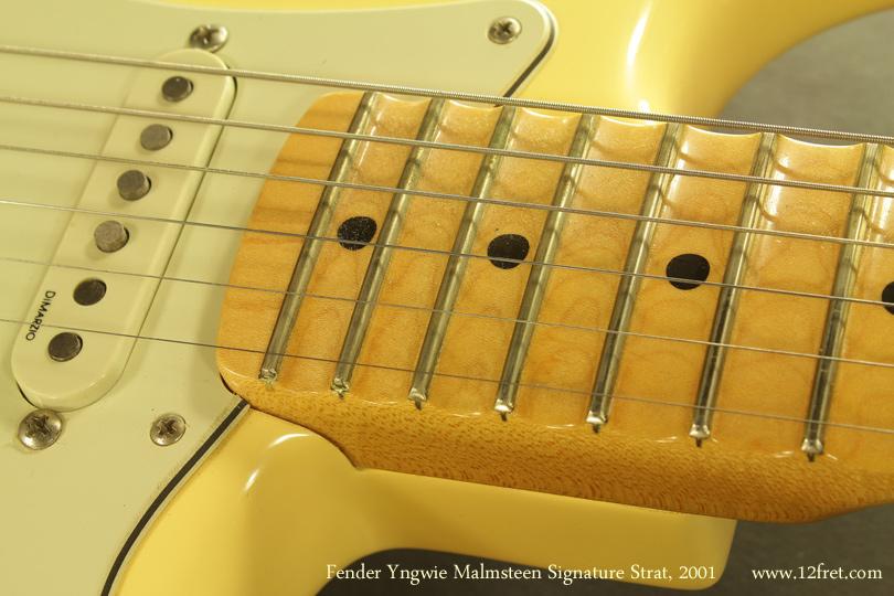 Fender Yngvie Malmsteen Signature Strat 2001 scallop