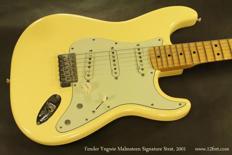 Fender Yngvie Malmsteen Signature Strat 2001 top