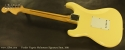 Fender Yngvie Malmsteen Signature Strat 2001 full rear view