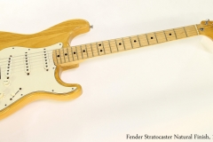 Fender Stratocaster Natural Finish, 1972  Full Front View