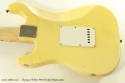 Fender Stratocaster Olympic White 1970 back