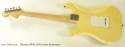 Fender Stratocaster Olympic White 1970 full rear view