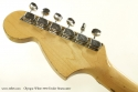 Fender Stratocaster Olympic White 1970 head rear