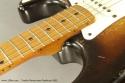 Fender Stratocaster Sunburst 1955 fingerboard detail