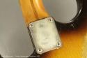 Fender Stratocaster Sunburst 1955 serial plate