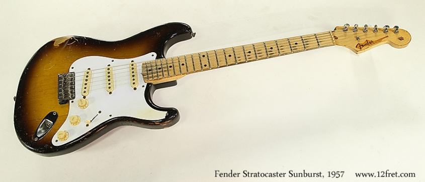 Fender Stratocaster Sunburst, 1957 Full Front View