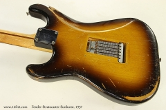 Fender Stratocaster Sunburst, 1957 Back View 2
