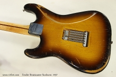 Fender Stratocaster Sunburst, 1957 Back View 1