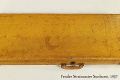 Fender Stratocaster Sunburst, 1957 Case Closed View