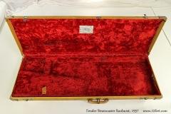 Fender Stratocaster Sunburst, 1957 Case Open