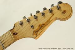 Fender Stratocaster Sunburst, 1957 Head Front View