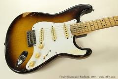 Fender Stratocaster Sunburst, 1957 Top View