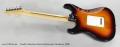 Fender American Series Stratocaster Sunburst, 2000 Full Rear View