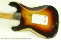 Fender Stratocaster Sunburst 1960  back