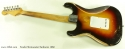 Fender Stratocaster Sunburst 1960 full rear view