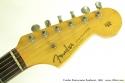 Fender Stratocaster Sunburst 1960 head front