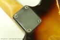 Fender Stratocaster Sunburst 1960 neckplate