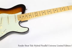 Fender Strat-Tele Hybrid Parallel Universe Limited Edition Sunburst   Full Front VIew